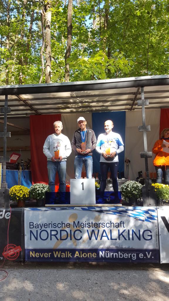 Bayrischen Meisterschaft im Nordic Walking